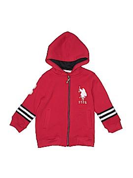 U.S. Polo Assn. Zip Up Hoodie Size 3T