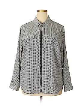 MICHAEL Michael Kors Long Sleeve Blouse Size 2X (Plus)