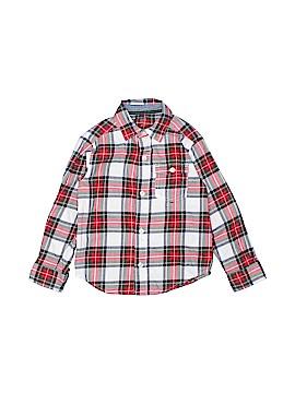 Carter's Long Sleeve Button-Down Shirt Size 4T