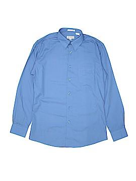 Gioberti Long Sleeve Button-Down Shirt Size 14