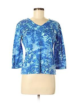 Anne Klein 3/4 Sleeve Top Size M