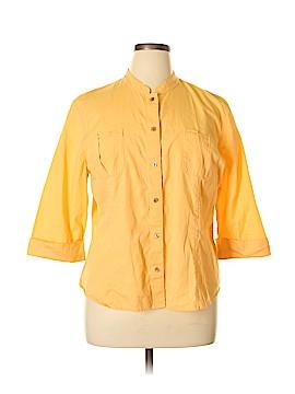 J.jill 3/4 Sleeve Button-Down Shirt Size XL