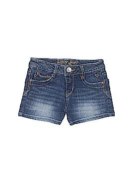 Justice Jeans Denim Shorts Size 8