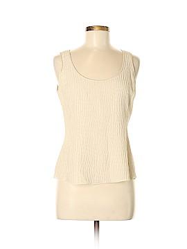 Armani Collezioni Sleeveless Silk Top Size 42 (IT)