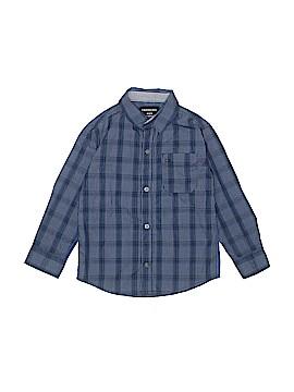 CALVIN KLEIN JEANS Long Sleeve Button-Down Shirt Size 5/6