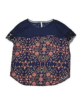 Xhilaration Short Sleeve Blouse Size XXL