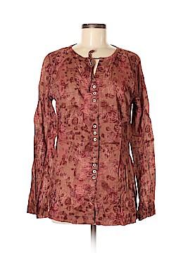 Mountain Hardwear Long Sleeve Button-Down Shirt Size 8