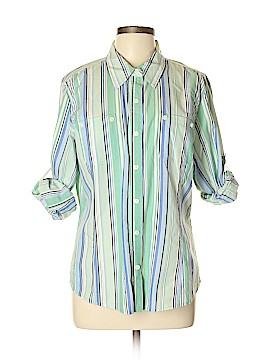 Jones New York Sport Long Sleeve Button-Down Shirt Size XL