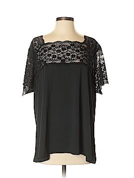 Jessica London Short Sleeve Top Size 24 (Plus)