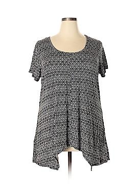 Philosophy Republic Clothing Short Sleeve Top Size 2X (Plus)
