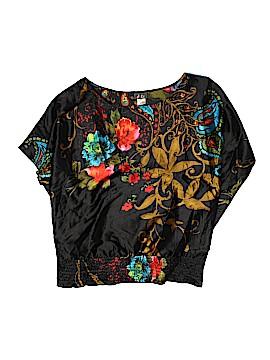 Dots Short Sleeve Blouse Size XL