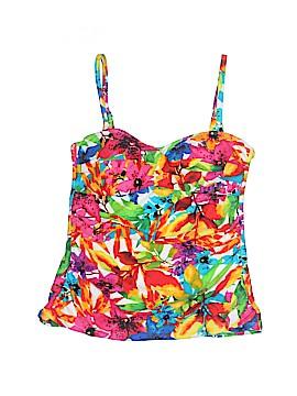 Chaps Swimsuit Top Size 8