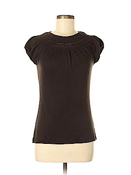 Alfani Short Sleeve Silk Top Size M