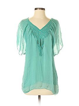 Carla Conti Short Sleeve Blouse Size S