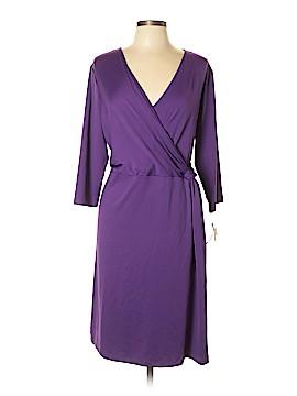 Peter Nygard Casual Dress Size 1X (Plus)