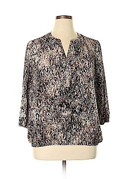 Dana Buchman 3/4 Sleeve Blouse Size XL