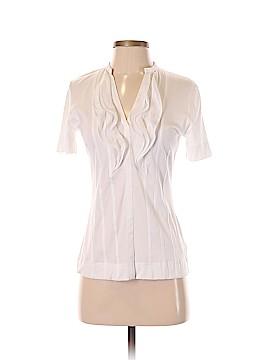Akris punto Short Sleeve Blouse Size 6