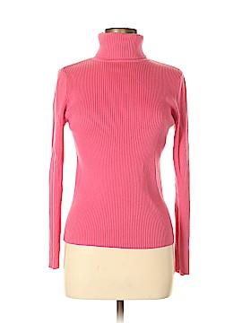 Moda International Long Sleeve Turtleneck Size M