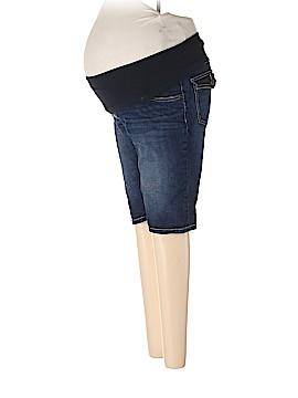 Indigo Blue Denim Shorts Size M (Maternity)