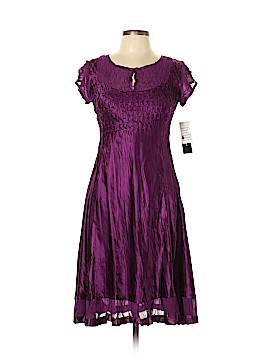 S.L. Fashions Casual Dress Size L (Petite)