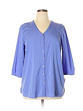 Fashion Bug 3/4 Sleeve Blouse Size XL