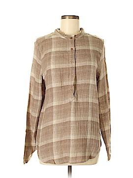 Love J Long Sleeve Button-Down Shirt Size M