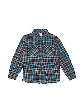 Tea Long Sleeve Button-Down Shirt Size 7