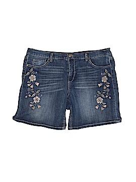 Vintage America Blues Denim Shorts Size 12