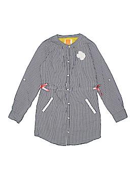 Eddie & Stine Long Sleeve Button-Down Shirt Size 6