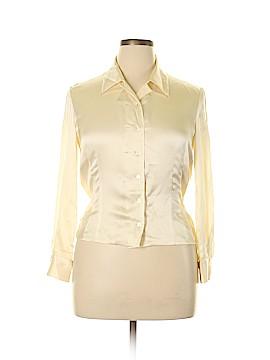 Carlisle Long Sleeve Silk Top Size 10