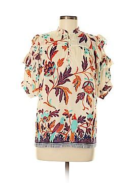 Paul & Joe Sister Short Sleeve Silk Top Size Sm (1)