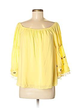 VAVA by Joy Han 3/4 Sleeve Blouse Size M