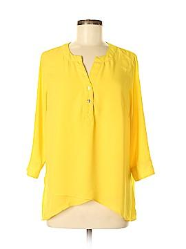 Catherine Malandrino 3/4 Sleeve Blouse Size M