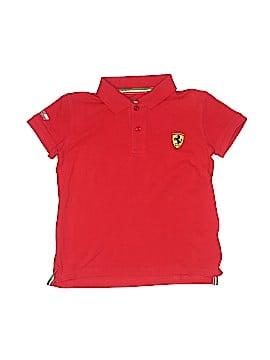 Ferrari Short Sleeve Polo Size 7 - 8
