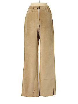 Etcetera Leather Pants Size 4