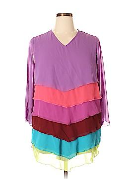 Roaman's 3/4 Sleeve Blouse Size 16