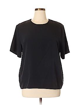 Impressions Short Sleeve Blouse Size XL