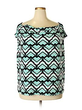 Lane Bryant Short Sleeve Blouse Size 22 Plus (5) (Plus)