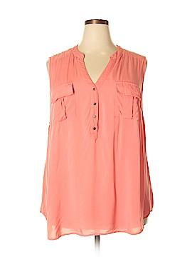 Torrid Sleeveless Button-Down Shirt Size 3X Plus (3) (Plus)