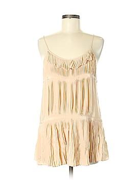 Broadway & Broome Sleeveless Silk Top Size M