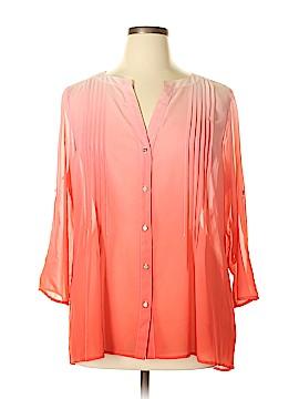 Chaus 3/4 Sleeve Blouse Size XL