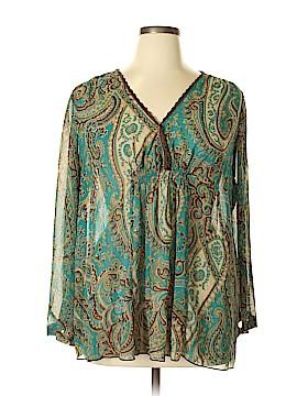 Liz Lange 3/4 Sleeve Blouse Size XL