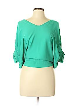 Diane von Furstenberg Short Sleeve Blouse Size 0