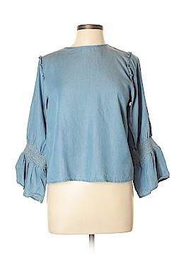 Alfani Long Sleeve Blouse Size XL (Petite)