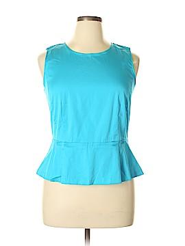 Ann Taylor Sleeveless Blouse Size 14