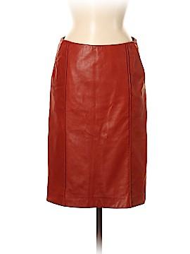 Yves Saint Laurent Leather Skirt Size 40 (FR)
