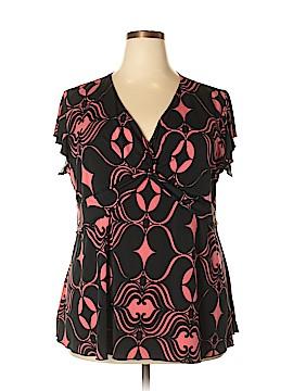 J.t.b. Short Sleeve Top Size 2X (Plus)