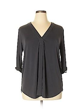 Lush 3/4 Sleeve Blouse Size XL