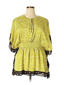 MICHAEL Michael Kors Short Sleeve Blouse Size XL