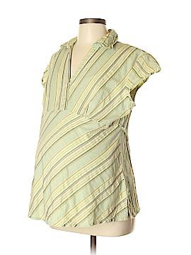 Oh! Mamma Short Sleeve Blouse Size L (Maternity)